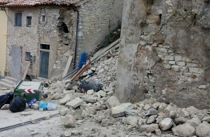 terremoto norcia 30 ottobre 2016
